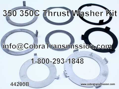 Thrust Washer Kit, 350, 350C (3 Speed)