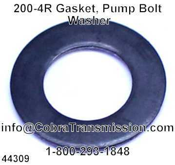 200-4R Gasket, Pump Bolt Washer