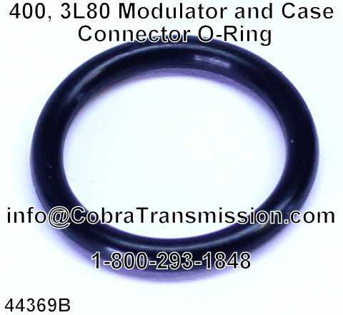 400, 3L80 Modulator and Case Connector O-Ring