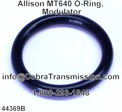 Allison MT640 O-Ring, Modulator