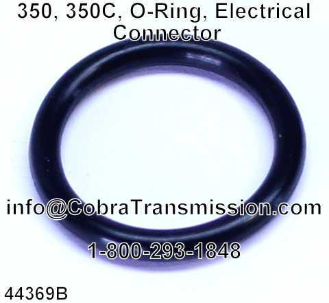 350, 350C, O-Ring, Electrical Connector
