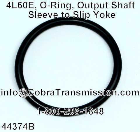 4L60E, O-Ring, Output Shaft Sleeve to Slip Yoke