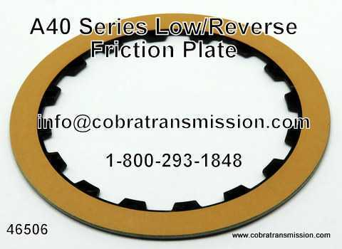 A40 Series Friction Plate, Low/Reverse