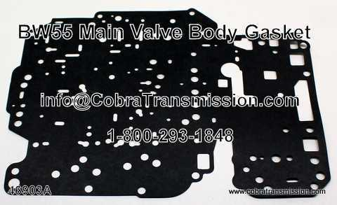 BW55 Gasket, Main Valve Body