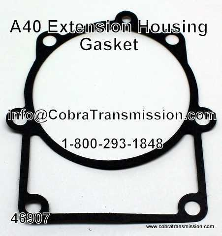 A40 Series Gasket, Extension Housing