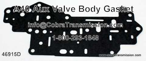 A40 Series Gasket, Aux Valve Body