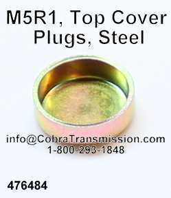 M5R1, Top Cover Plugs, Steel