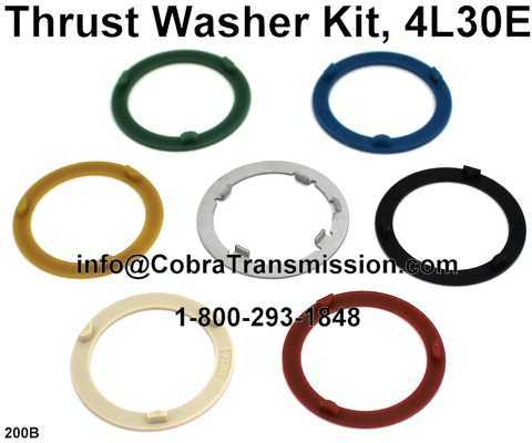 Thrust Washer Kit, 4L30E
