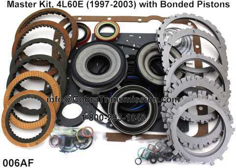 Master Kit, 4L60E (1997-2003) with Bonded Pistons