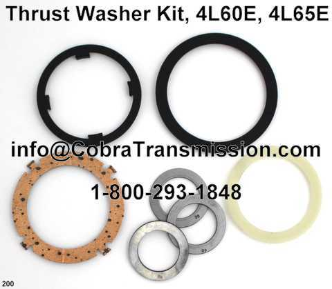 4L60E, 4L65E Thrust Washer Kit
