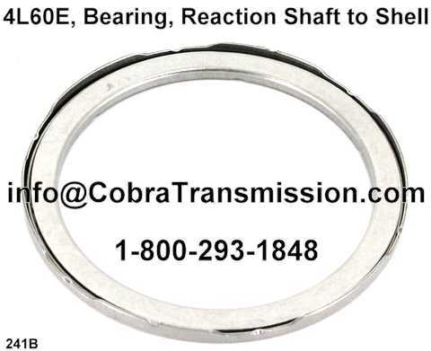 4L60E, Bearing, Reaction Shaft to Shell