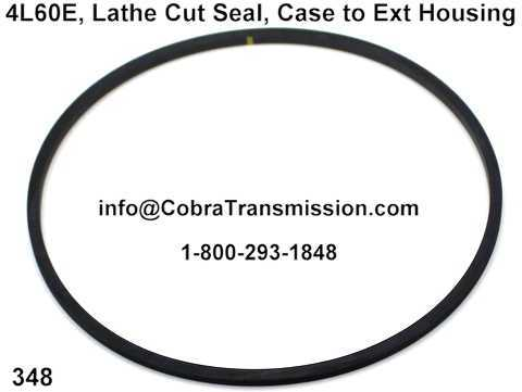 4L60E, Lathe Cut Seal, Case to Ext Housing