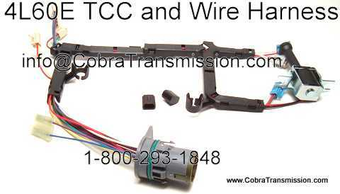 4L60E Part TCC Wire Harness solenoid, sensor , cobra transmission 4L80E Transmission Wiring Diagram at creativeand.co
