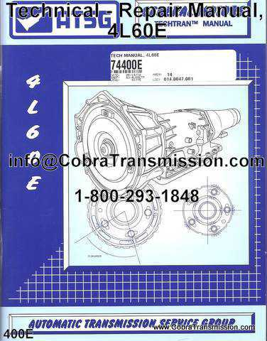 Technical - Repair Manual, 4L60E