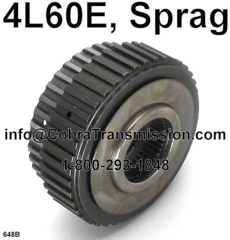 4L60E, Sprag Assembly, Forward Clutch (28/29 Element Dual Cage)