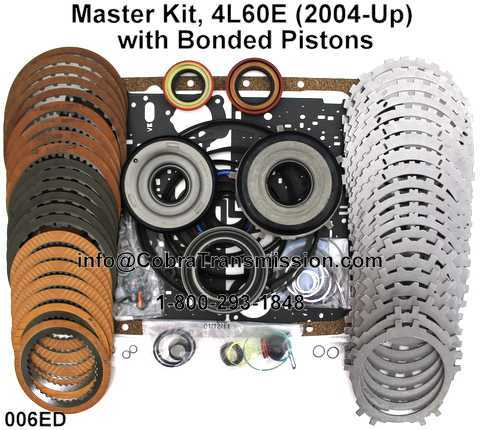 Master Kit, 4L60E (2004-Up) with Bonded Pistons