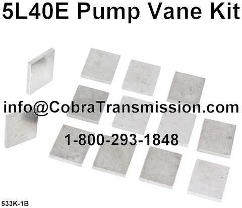 5L40E Pump Vane Kit