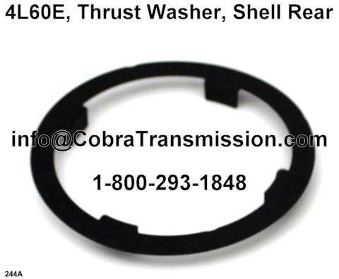 4L60E, Thrust Washer, Shell Rear