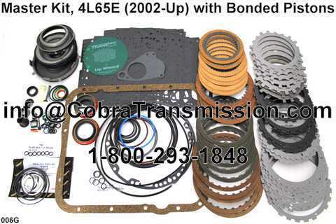 Master Kit, 4L65E (2002-Up) with Bonded Pistons