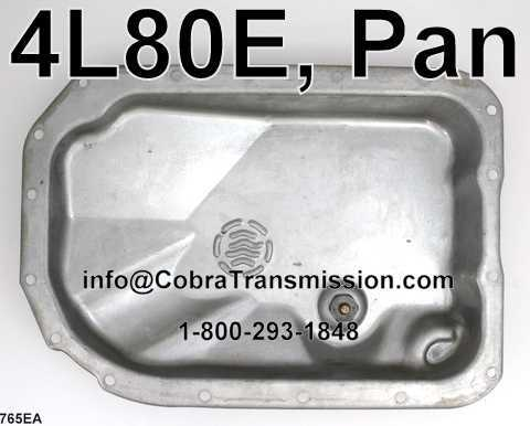 4l80e Pan U34765ea 34 99 Cobra Transmission