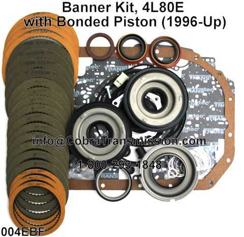 Banner Kit, 4L80E with Bonded Piston (1996-Up)