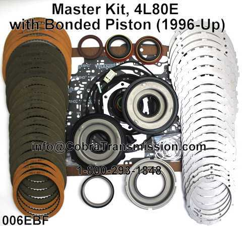 Master Kit, 4L80E with Bonded Piston (1996-Up)