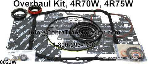 Overhaul Kit, 4R70W, 4R75W (2004-Up)