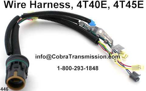4T40 E 4T45E Wire Harness Internal solenoid, sensor , cobra transmission Wire Harness Assembly at nearapp.co