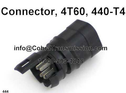 Connector, 4T60, 440-T4