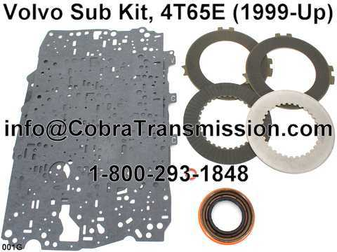 Volvo Sub Kit, 4T65E (1999-Up)