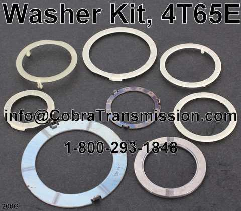 Washer Kit, 4T65E