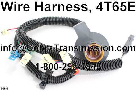 4t65e Transmission Wiring Harness Diagram - Data Wiring Diagram on