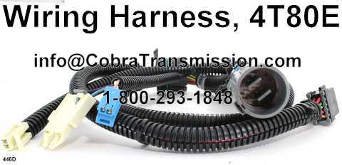 Wiring Harness, 4T80E