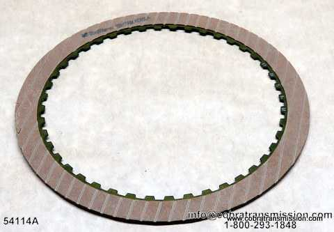 200-4R, Low/Reverse Friction Plate