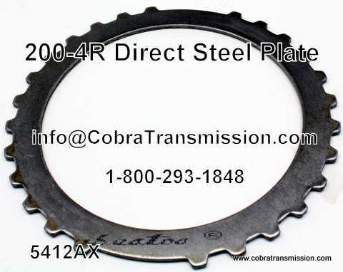 200-4R, Direct Steel Plate
