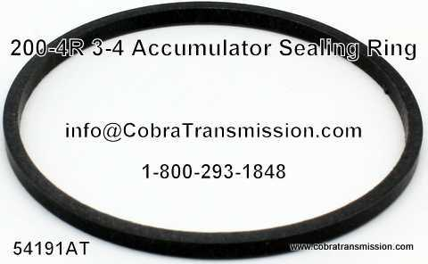 200-4R 3-4 Accumulator Sealing Ring
