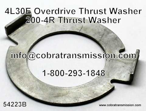 200-4R Thrust Washer