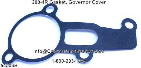 200-4R Gasket, Governor Cover