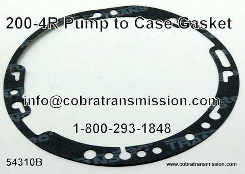 200-4R Gasket, Pump to Case