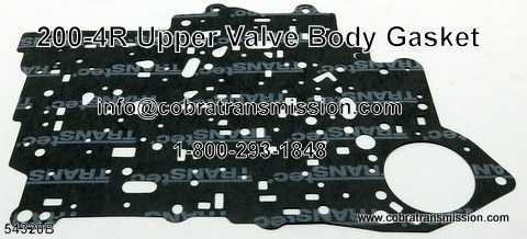 200-4R Gasket, Upper Valve Body