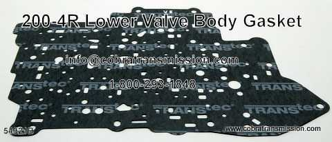 200-4R Gasket, Lower Valve Body