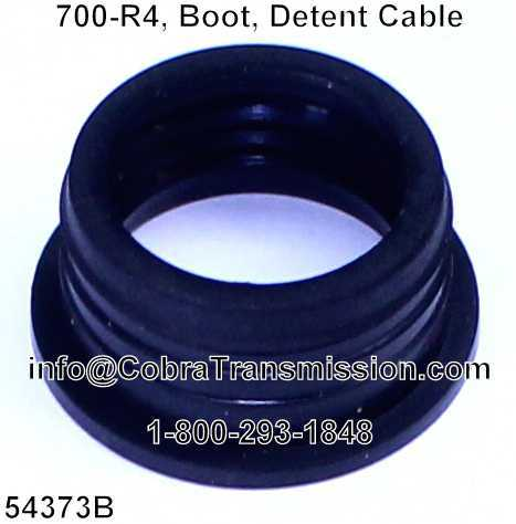 700-R4, Boot, Detent Cable