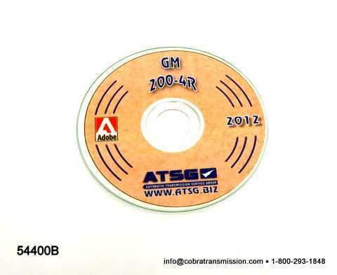 Technical - Repair Manual, GM 200-4R