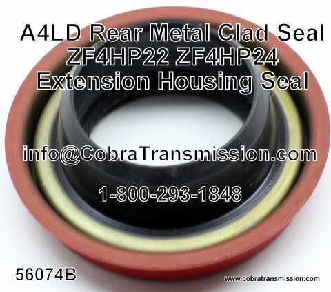 Rear Metal Clad Seal - Various Applications