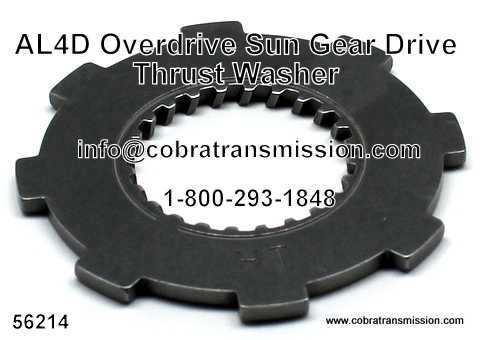 A4LD Thrust Washer Overdrive Sun Gear Drive