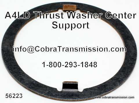 A4LD Thrust Washer Center Support