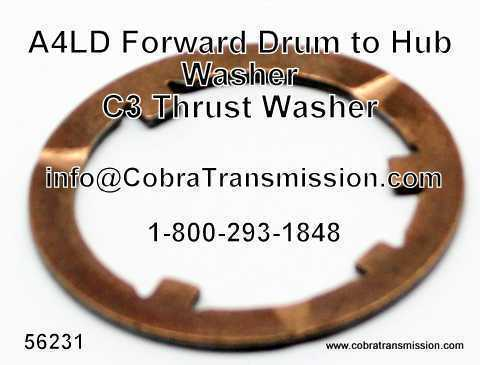 A4LD Thrust Washer Between Forward Drum & Hub