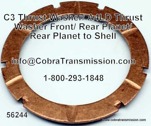 A4LD Thrust Washer Front & Rear Planet