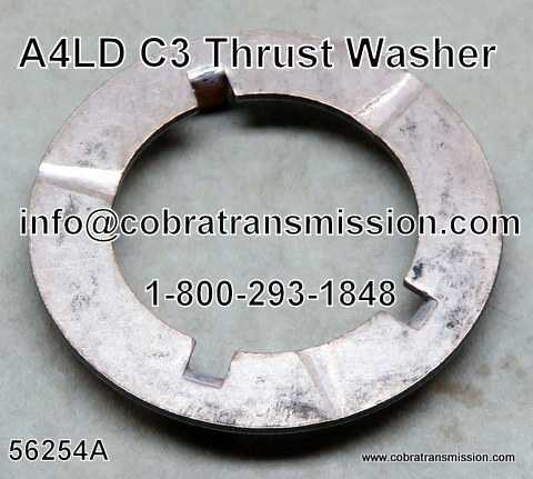 A4LD Thrust Washer Between Rear Hub & Sprag Race