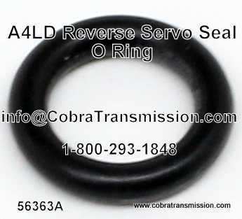 A4LD O-Ring (Liga), Sello Servo Reverso